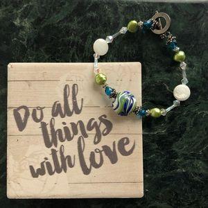 ✋🏼 Handmade Ocean Waves Bracelet